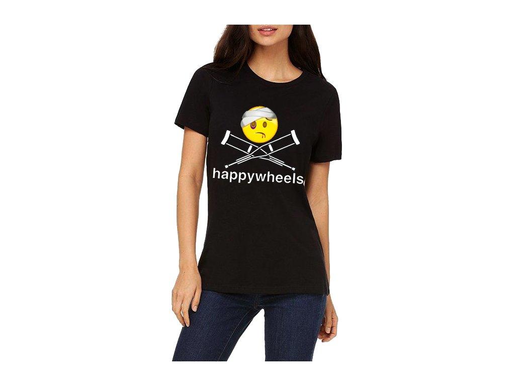 Dámské tričko Happy Wheels