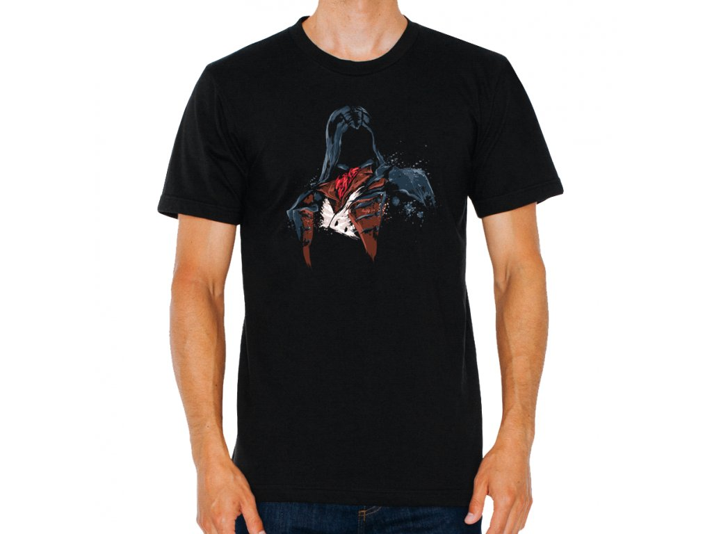 pánské tričko Assassins Creed maska