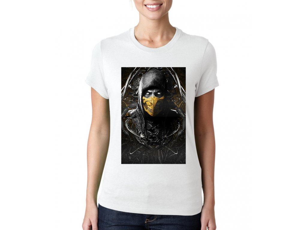 Dámské tričko Mortal Kombat Scorpion