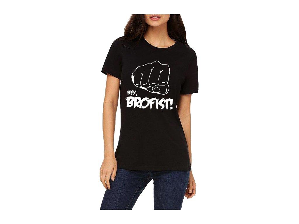 Dámské tričko Pewdiepie Hey brofist