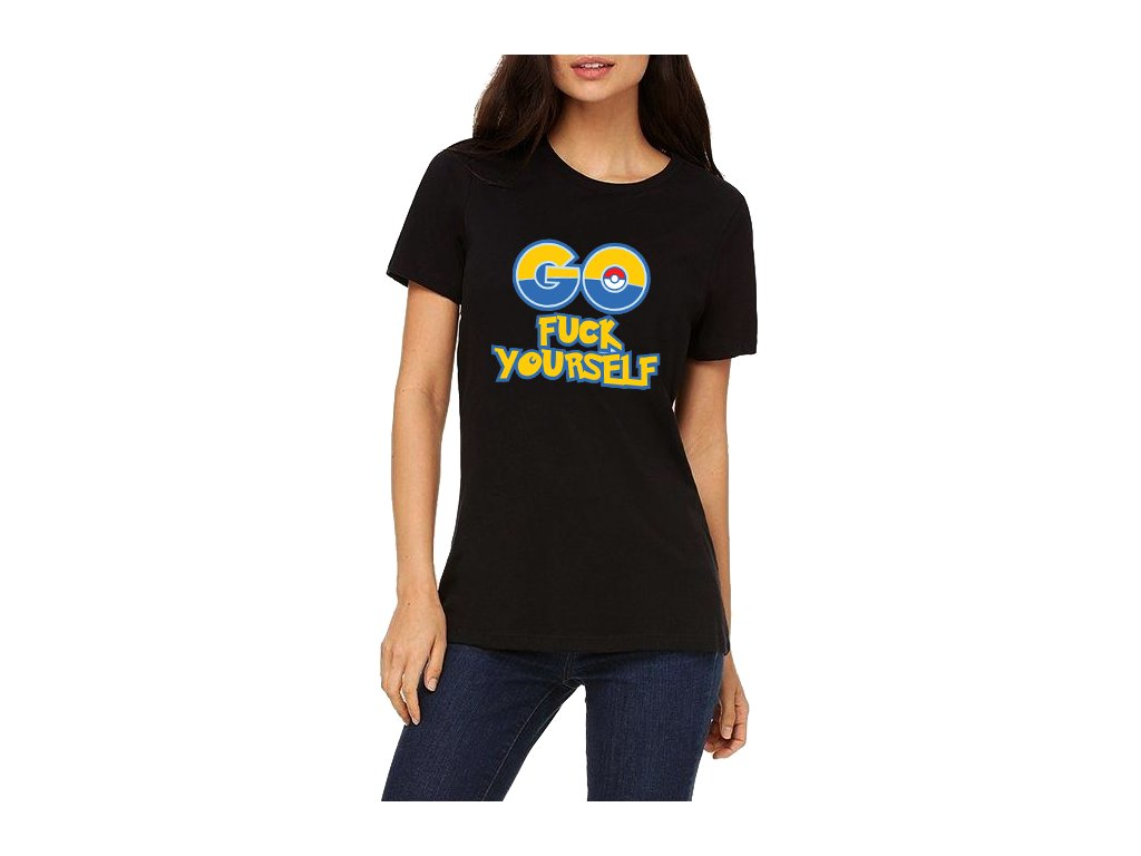 Dámské tričko Pokemon GO