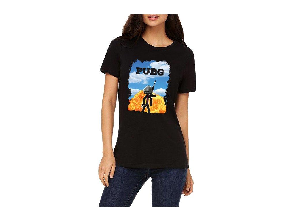 Dámské tričko Pubg hra