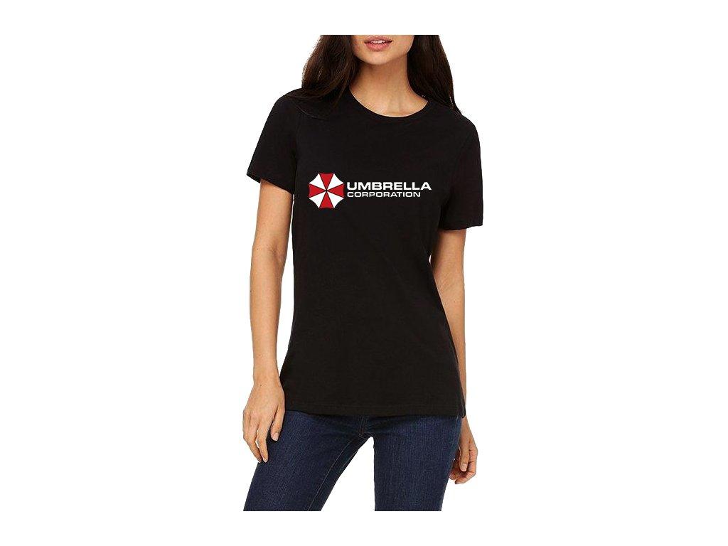 Dámské tričko Resident Evil Korporace Deštníků