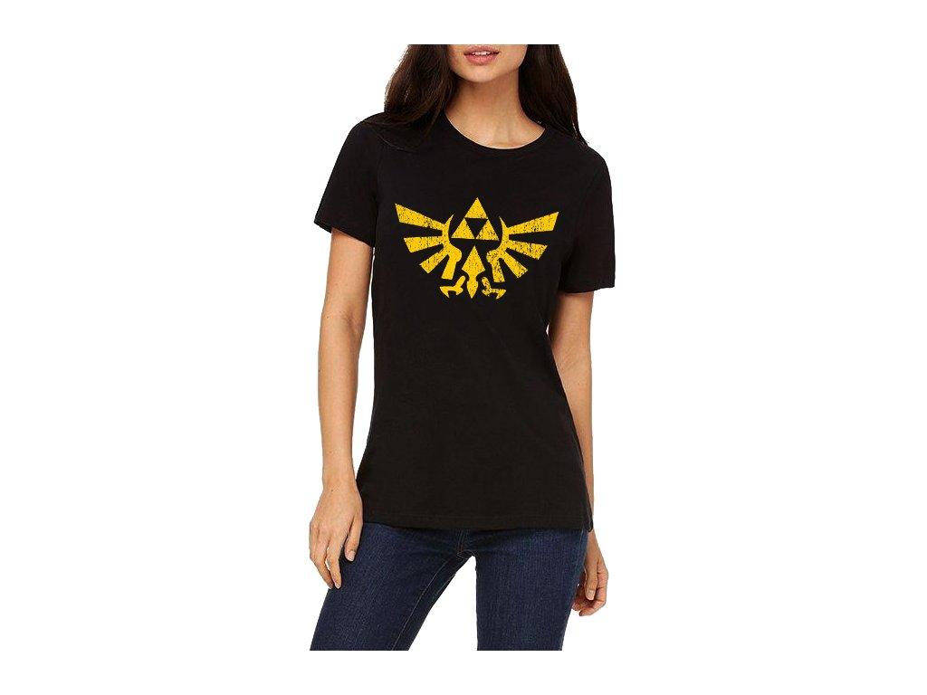 Dámské tričko Zelda logo
