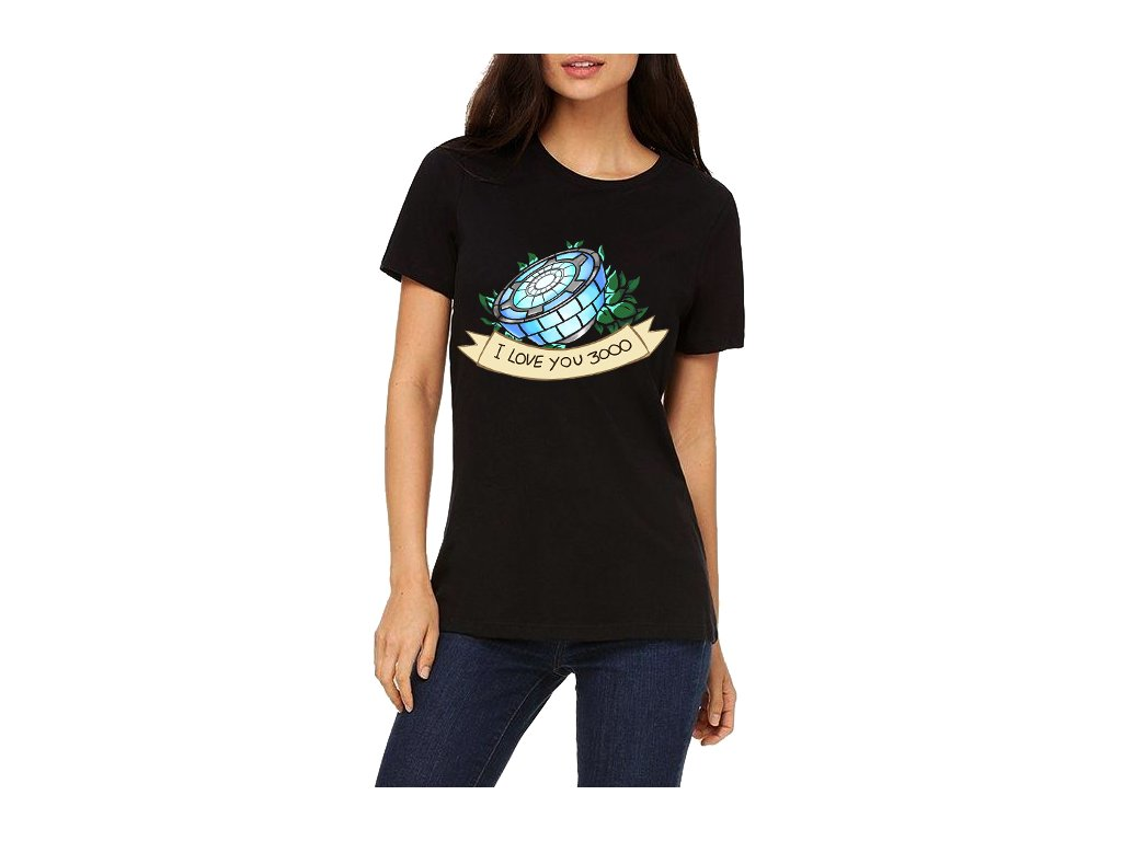 dámské tričko iron man 3000