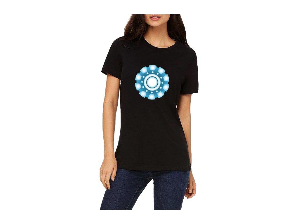 Dámské tričko Iron Man Zdroj