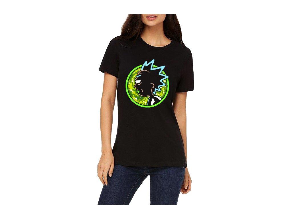 Dámské tričko Rick And Morty Crazy Rick