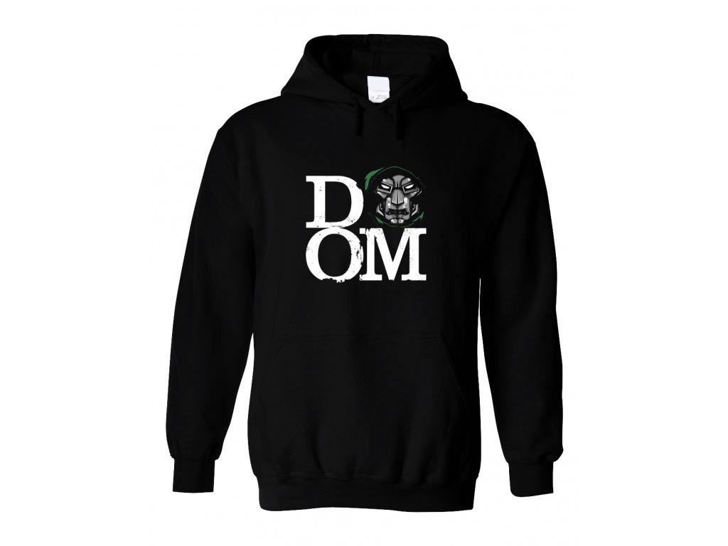 Mikina s kapucí Dr. DOOM