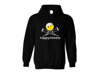 Mikina s kapucí Happy Wheels