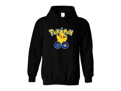 Mikina s kapucí Pokemon Go Pikachu