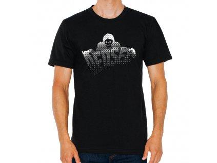 pánské černé tričko Watch Dogs 2 – Dedsec