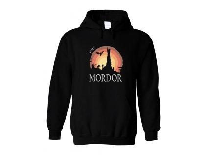 Mikina s kapucí Pán prstenů Navštivte Mordor
