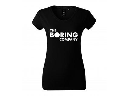 Dámské tričko Elon Musk The boring company