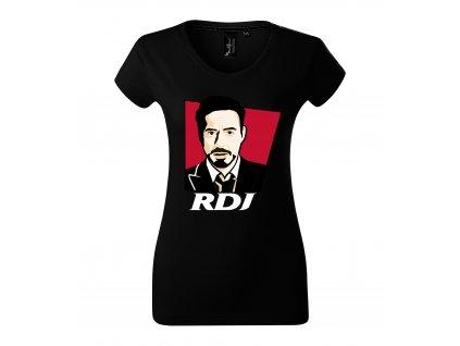 Dámské tričko Robert Downey Jr. Iron man