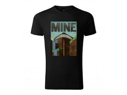 Pánské tričko Minecraft Těžit