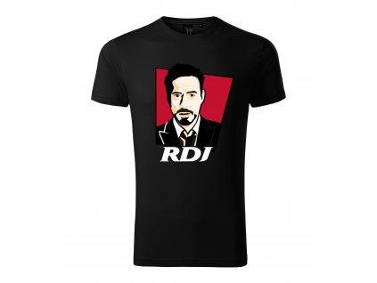 Pánské tričko Robert Downey Jr. Iron man