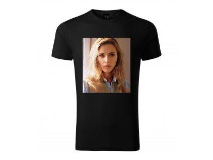 Pánské tričko Scarlett Johansson