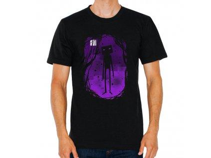 Pánské tričko minecraft Enderman