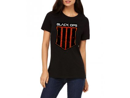 Dámské tričko Call of duty black ops