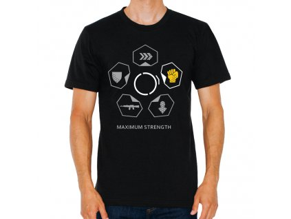 Pánské tričko Crysis Maximální síla