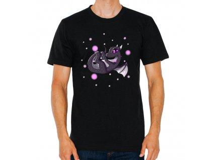 pánské tričko minecraft Ender Dragon