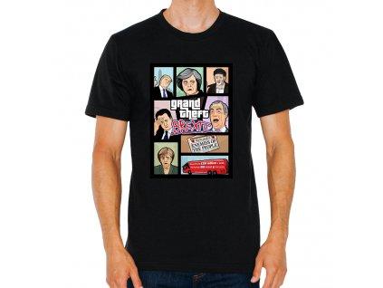 pánské tričko GTA brexit británie