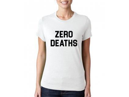 dámské tričko Pewdiepie zero deaths