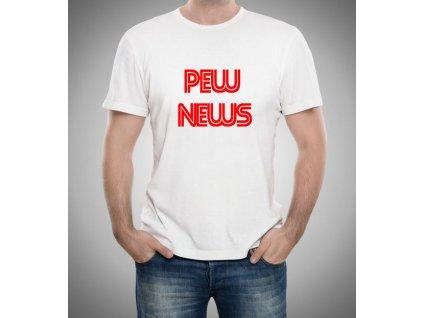 pánské tričko Pewdiepie pew news