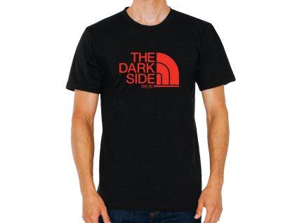 pánské černé tričko starwars imitace the north face