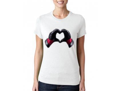 dámské tričko Deadpool srdce