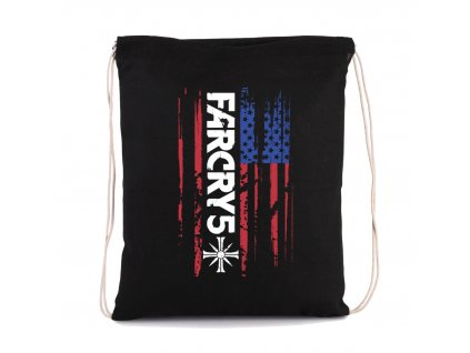 vak na záda Far Cry 5 Americká Vlajka