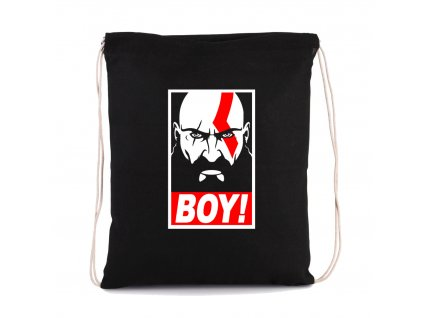 vak na záda God of War BOY Kratos