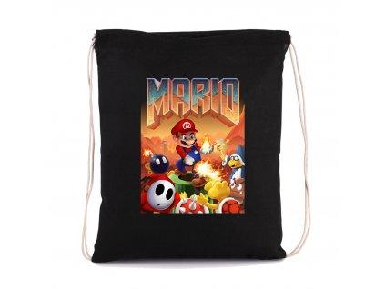 vak na záda Mario doom parodie