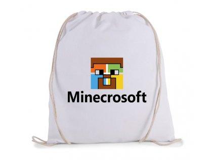 vak na záda Minecraft parodie Microsoft