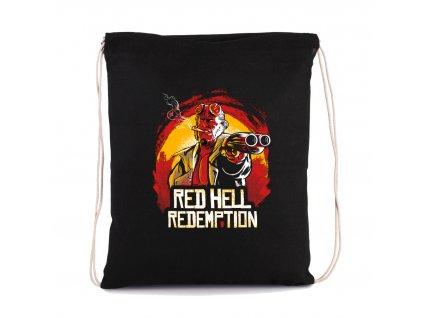 vak na záda Red dead redemption hell boy