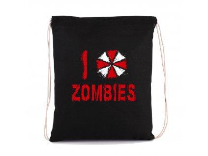 vak na záda Resident Evil Miluji Zombies
