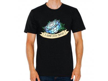 Pásnké tričko iron man 3000