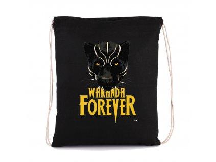vak na záda Black Panther Wakanda Navždy