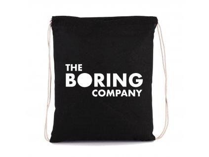 vak na záda Elon Musk The boring company