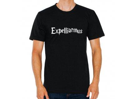 pánské černé tričko harry potter kouzlo