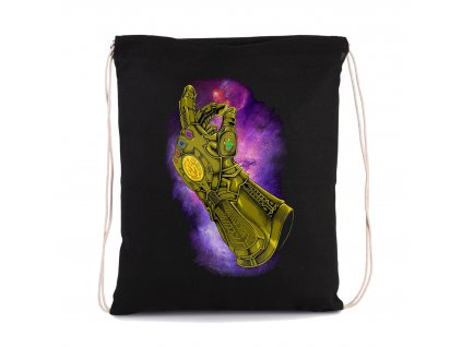 vak na záda Thanos Lusknutí