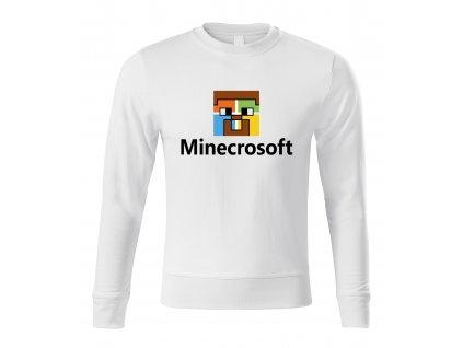 mikina bez kapuce Minecraft parodie Microsoft