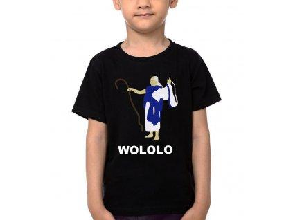 Dětské tričko age of empires kouzelník
