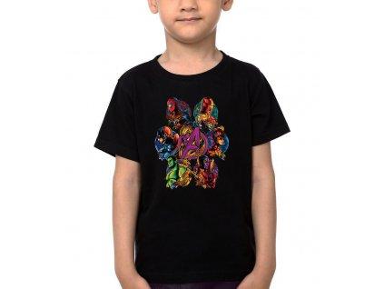 Dětské tričko Avengers tým