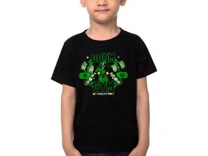 Dětské tričko Doom Posilovna