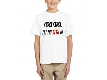 Dětské tričko eminem venom devil