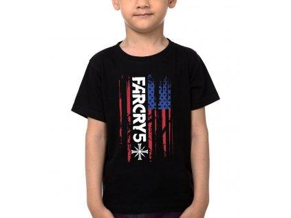 Dětské tričko Far Cry 5 Americká Vlajka