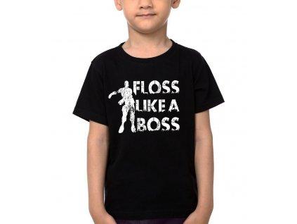 Dětské tričko Fortnite floss like a boss