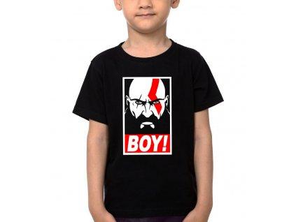 Dětské tričko God of War BOY Kratos