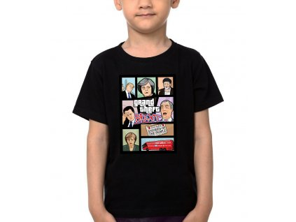 Dětské tričko GTA brexit británie